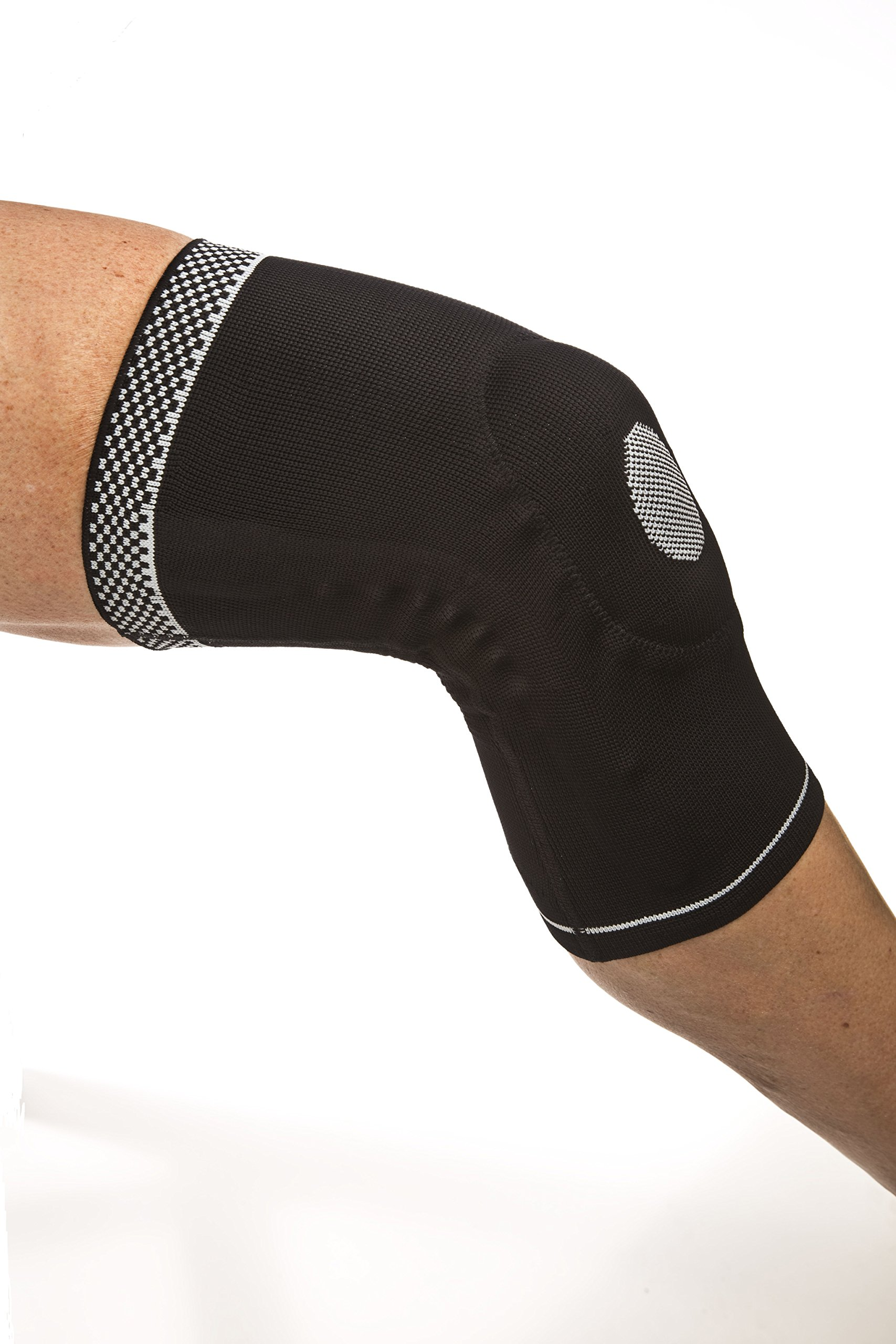 Cho-Pat Dynamic Knee Compression Sleeve - for Knee Support, Arthritis, Patellar Support, Meniscus Tear, Joint Pain Relief and Recovery (Large, 18 1/2''-19 3/4'''') by Cho-Pat