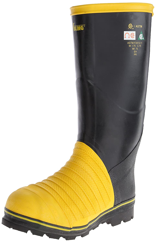 Viking Footwear メンズ ブラック/イエロー 12 D(M) US 12 D(M) USブラック/イエロー B00FG907OE
