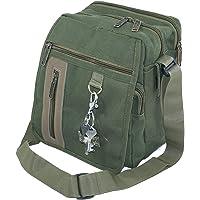 NISUN Sling cross body messenger one side shoulder bag for men women 9x 6.5x 10inch Olive