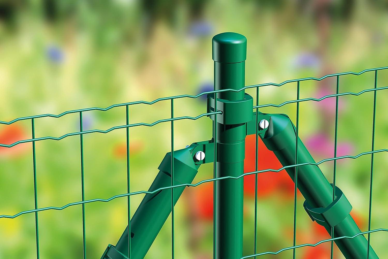 anthrazit-metallic Drahtst/ärke: 2,2 // 2,2 mm Maschenweite: 50 x 100 mm GAH-Alberts 604882 Schwei/ßgitter Fix-Clip Pro/® 25 m Rolle 1040 mm H/öhe