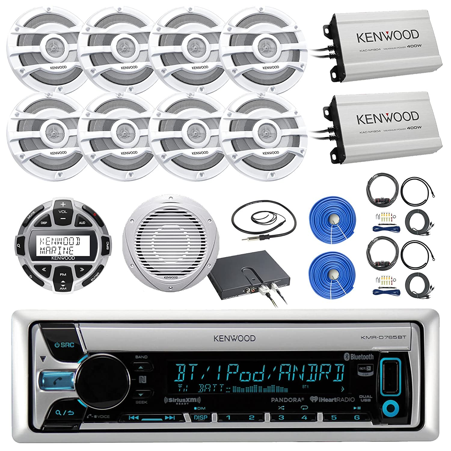 813K 4kzKjL._SL1500_ amazon com kenwood kmrd765bt marine cd receiver with bluetooth kenwood kmr-550u wiring diagram at gsmportal.co