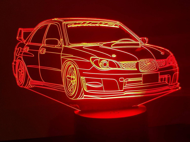 Led 3d Lampe Lampe Lampe Beleuchtung Beleuchtung 3d Subaru 3d Subaru Led rWExBoedQC