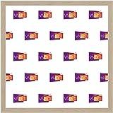 Cadre Photo Fin Couleur érable, 30 x 30 cm