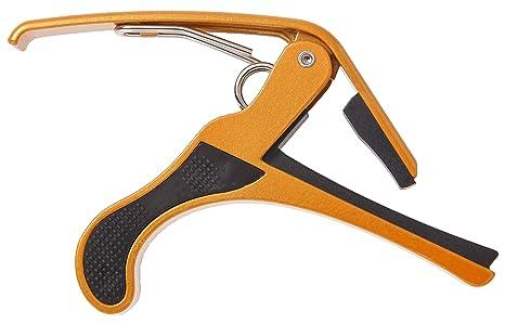 Phoenix One Touch cejilla para guitarra (curva tipo) guitarra Mantenimiento cable de gamuza, y eléctrica de ...