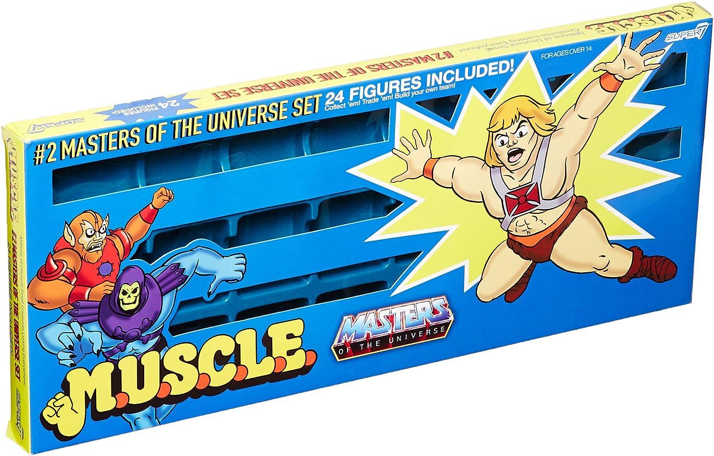 Masters of the Universe Trash Can Figure Set Super7 SDCC 2016 M.U.S.C.L.E