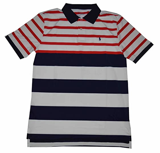 Clearance With Credit Card Sale Fashionable striped polo shirt - White Polo Ralph Lauren dsKdCbairo