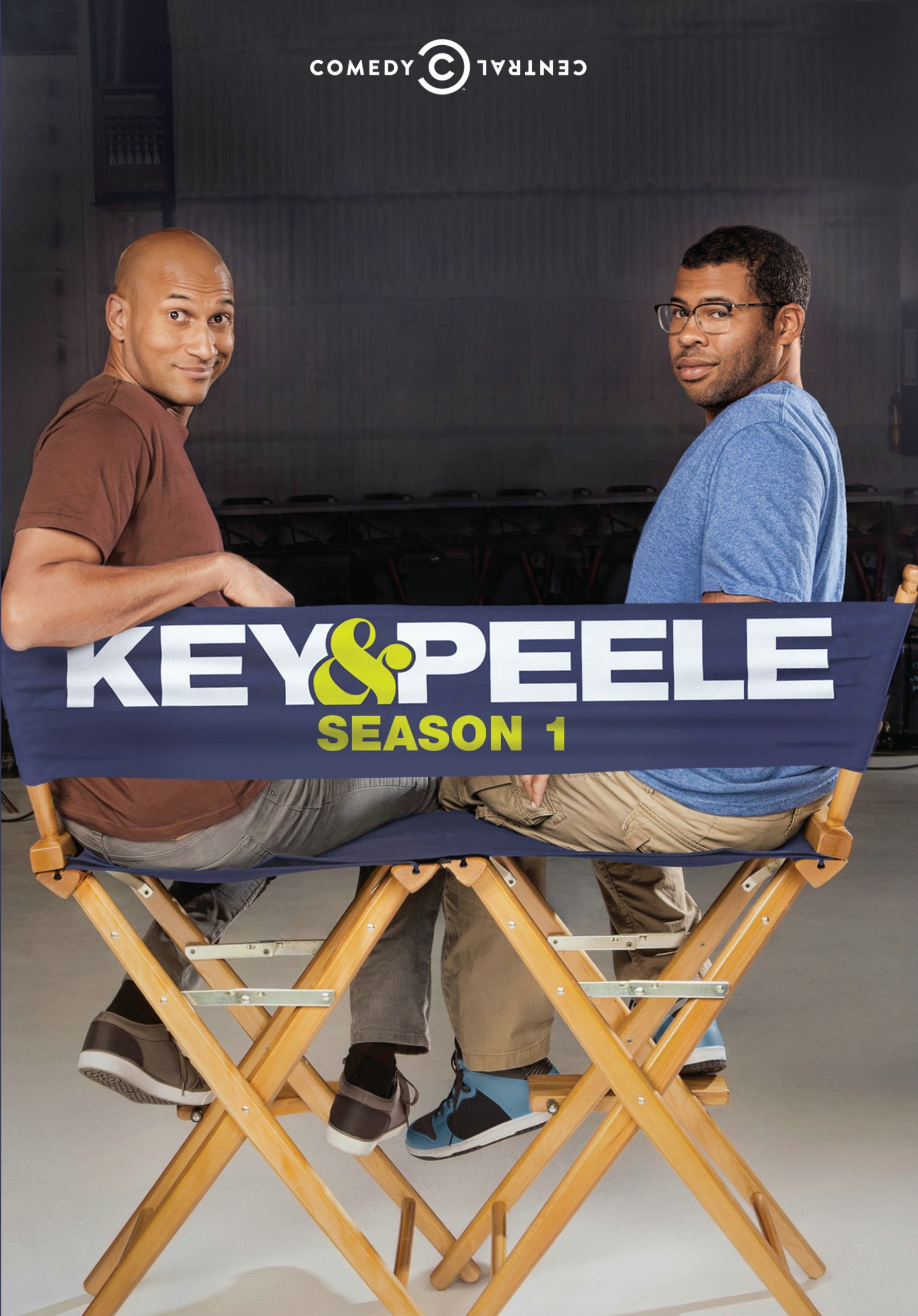 DVD : Keegan-Michael Key - Key And Peele: Season One (Widescreen, Dolby, AC-3, Amaray Case)