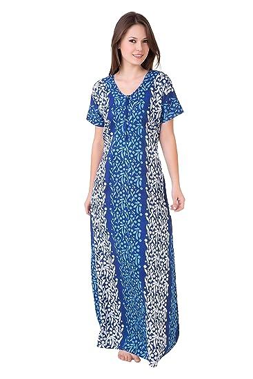 Masha Women's Cotton Nighty Nighties & Nightdresses at amazon