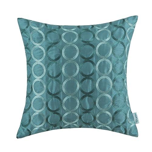 teal decorative pillows amazoncom