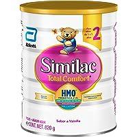 Similac Total Comfort | Etapa 2, Fórmula Infantil en Polvo de Fácil Digestión | 1 a 3 años | 820g