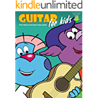 Guitar for Kids: First Steps in Learning to Play Guitar with Audio & Video book cover