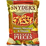 Snyder's of Hanover Honey Mustard and Onion Pretzel Pieces, 125g