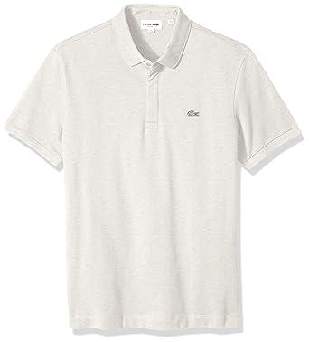 aad95e96433a82 Lacoste Men's Short Sleeve Paris Piqué Polo at Amazon Men's Clothing ...