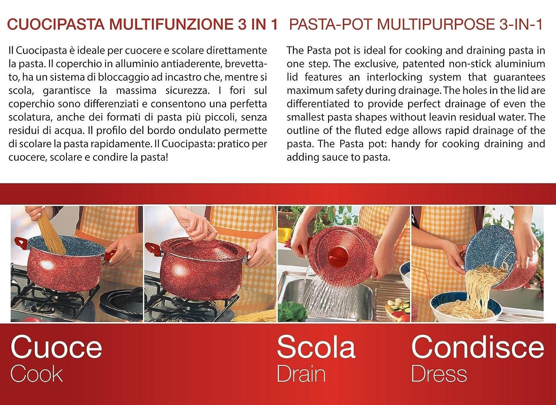 Olla cocer Pasta Aeternum Petravera
