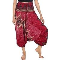 Lofbaz Mujeres Harem Hippy Pantaloni de la Pantalones