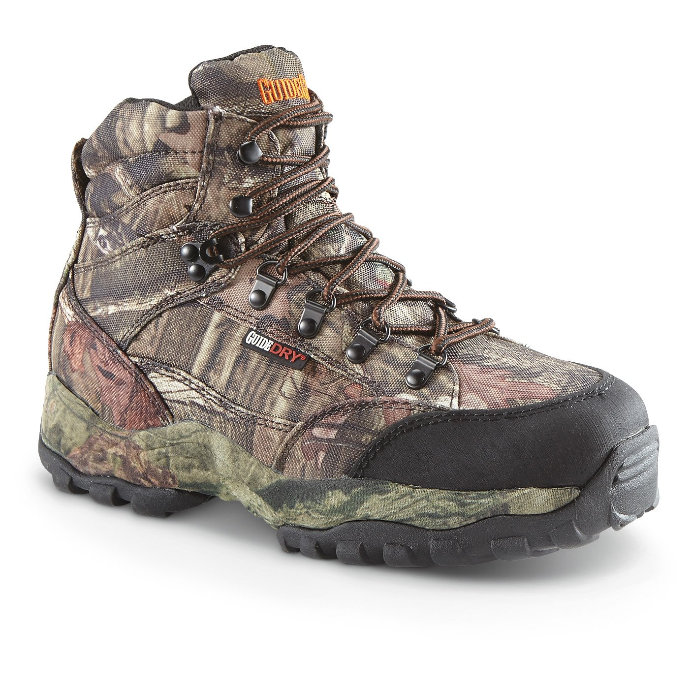 Guide Gear Men's Guidelight II 6'' Insulated Waterproof Hunting Boots by Guide Gear