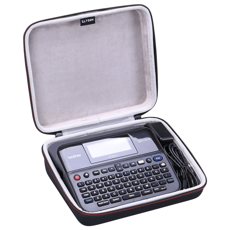 LTGEM EVA Case For Brother PT-D600VP Label Printer | Desktop | QWERTY Keyboard ǀ Full Colour Screen CS204