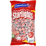 Nosh Pack Peppermint Starlight Mints Individually Wrapped Candy 5 Pounds Approx. 400 Mints