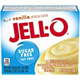 Jell-O Instant Pudding & Pie Filling, Vanilla Sugar Free, 1 oz