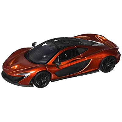 Motor Max 1: 24 W/B McLaren P1 Diecast Vehicle, Metallic Orange: Toys & Games