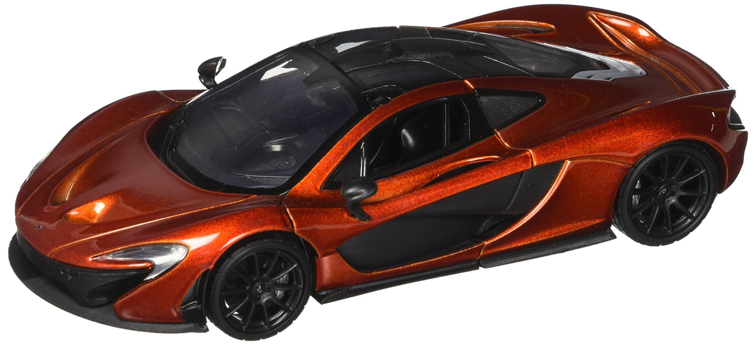 Motor Max 1:24 W/B Mclaren P1 Diecast Vehicle, Metallic Orange