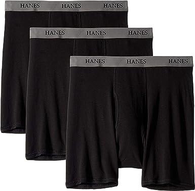 Hanes Men S Core Cotton Platinum Boxer Briefs Pack At Amazon Men S