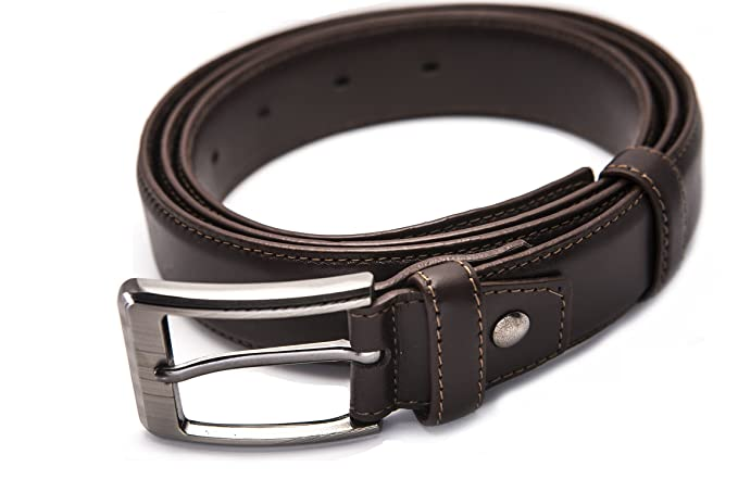 Amazon.com: bdenizens para hombre cinturón de piel con ...