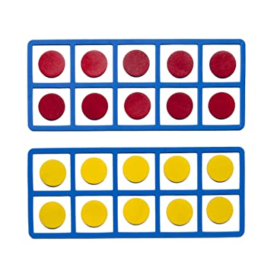 Learning Advantage Giant Magnetic Foam Ten Frames, Set of 2: Industrial & Scientific