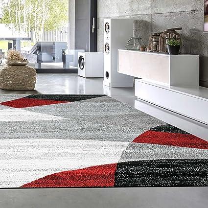 Vimoda Tappeto moderno soggiorno tappeto, disegno geometrico, Erica ...