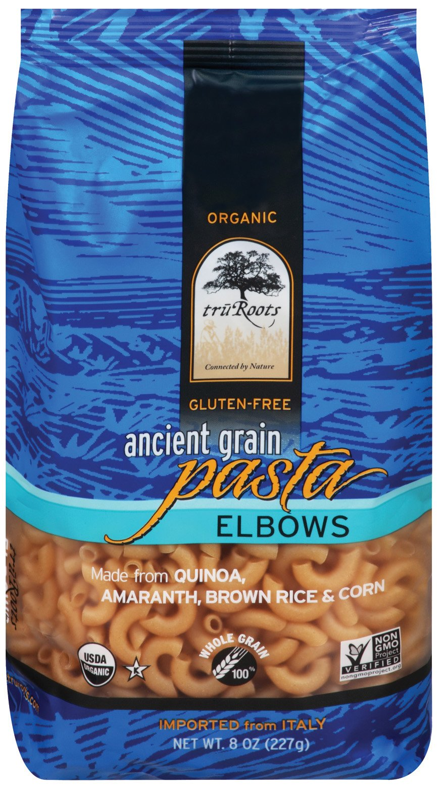 truRoots Ancient Grain Elbow Pasta, 8 Ounce (Pack of 6) by truRoots