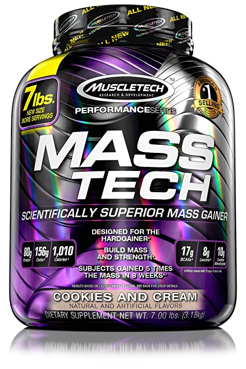 Muscletech Performance Series Mass-Tech Cookies and Cream - 3200 gr