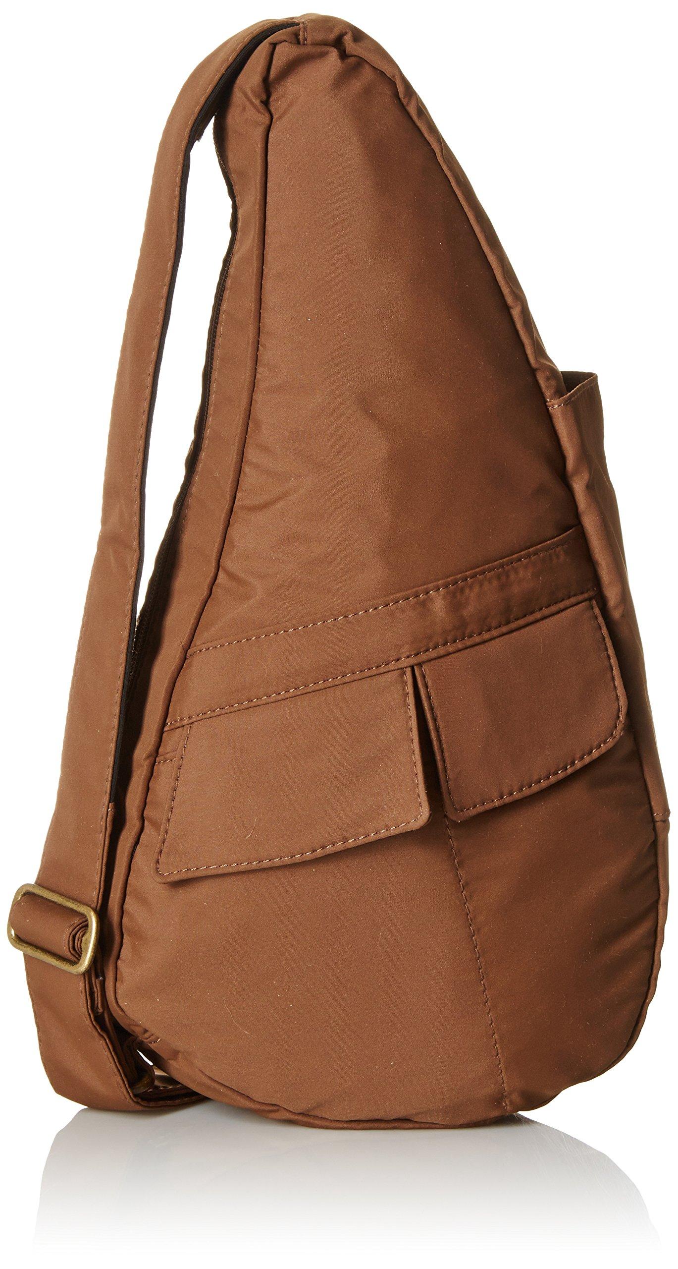 AmeriBag Classic Microfiber Healthy Back Bag tHandbag X-Small,Taupe,one size