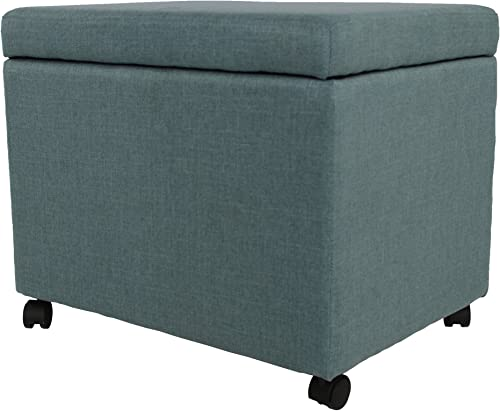 Christopher Knight Home Mateo Traditional Home Office Fabric File Storage Ottoman