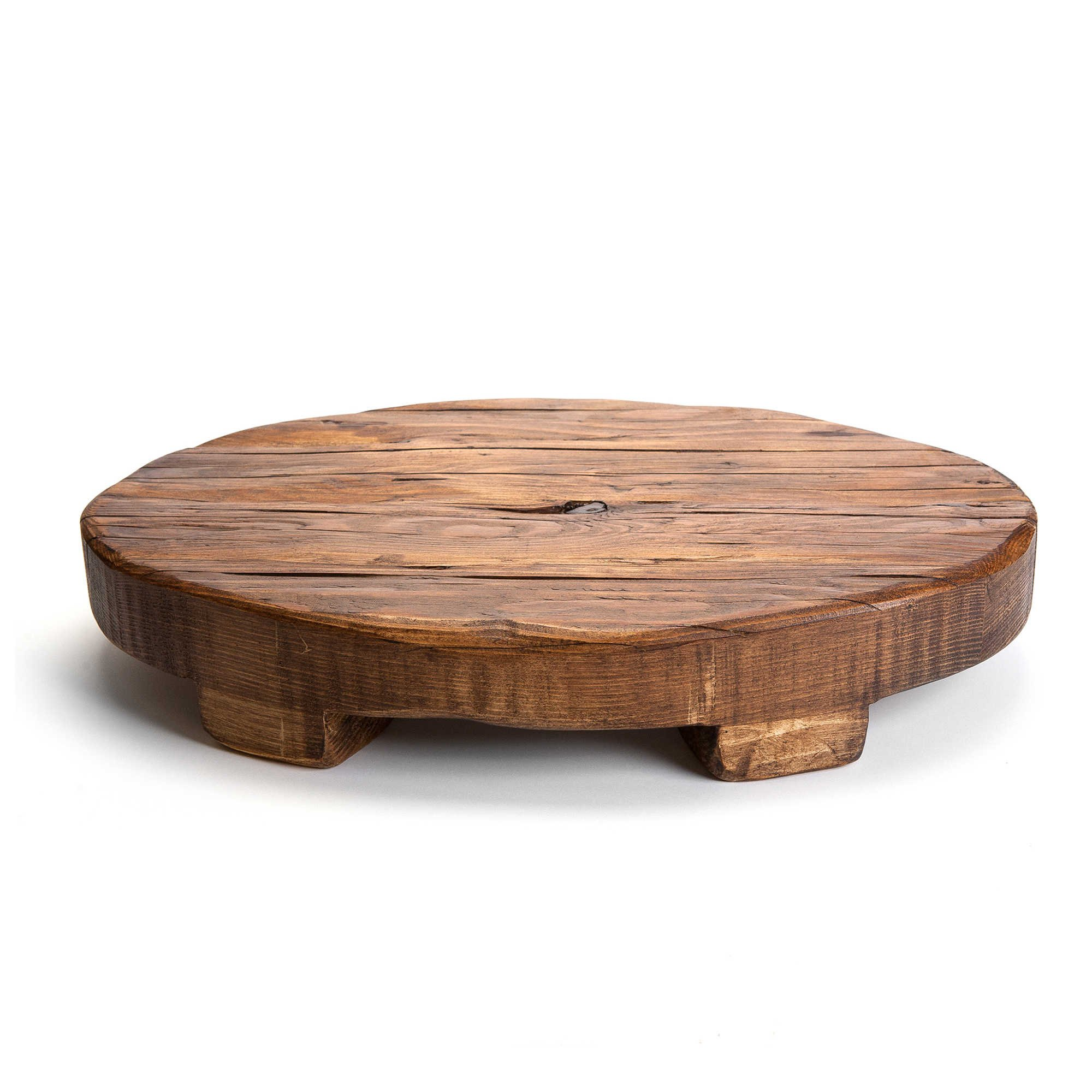 etuHOME 18-Inch Oval Reclaimed Wood Trivet by etuHOME®