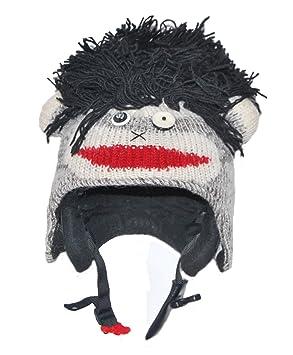 a4a166f09bb6 Ski Helmet Cover Black Rock Sock Punk Monkey - 15 different animals  available, Helmets - Amazon Canada