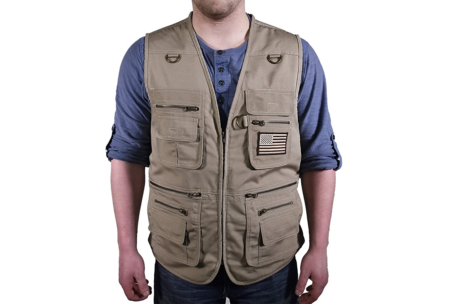 BLUESTONE Concealment Vest C567-TAN-2XL-P