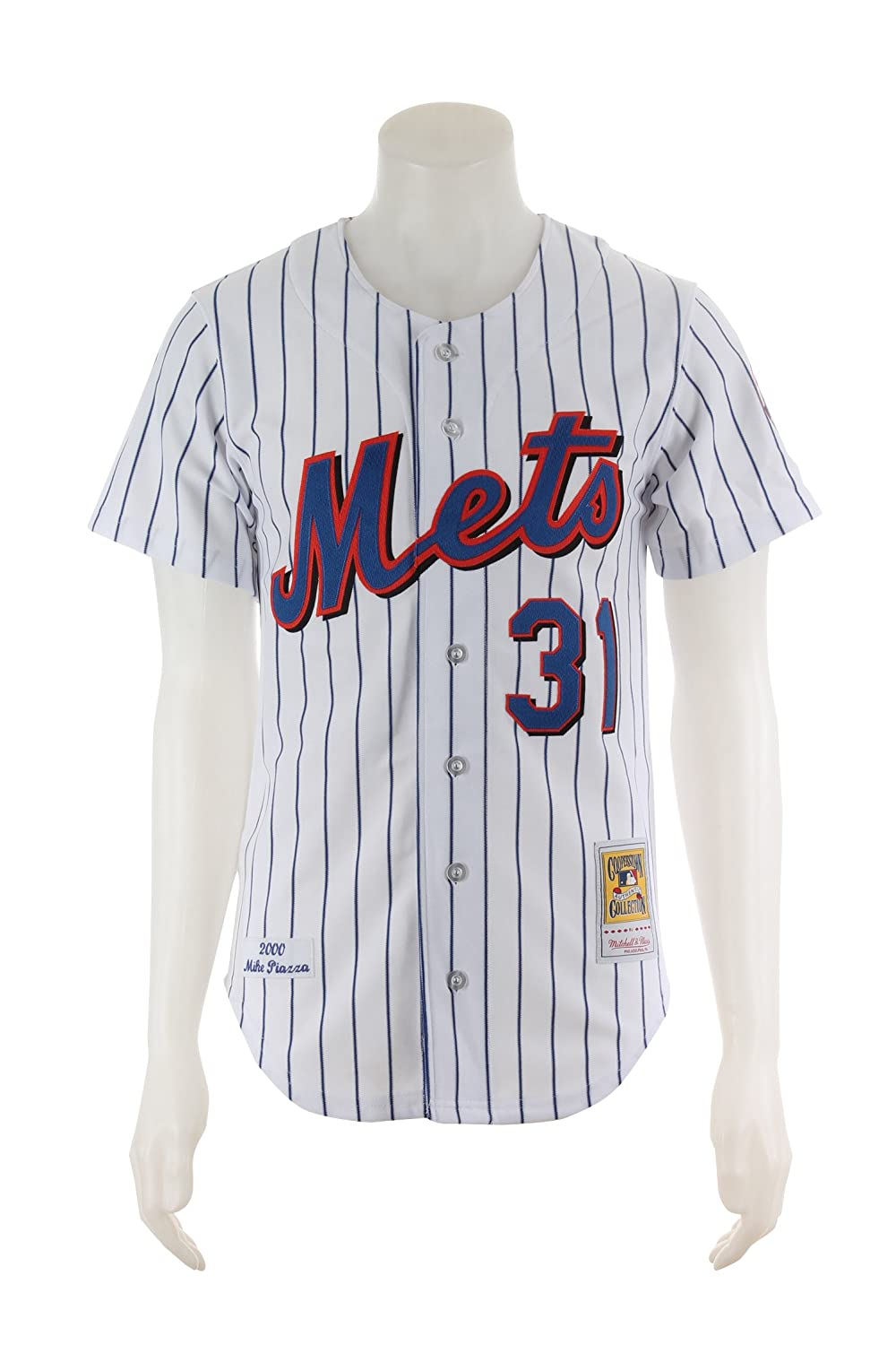 detailed look cf4bf 4aa1b Amazon.com : Mitchell & Ness Mike Piazza New York Mets ...