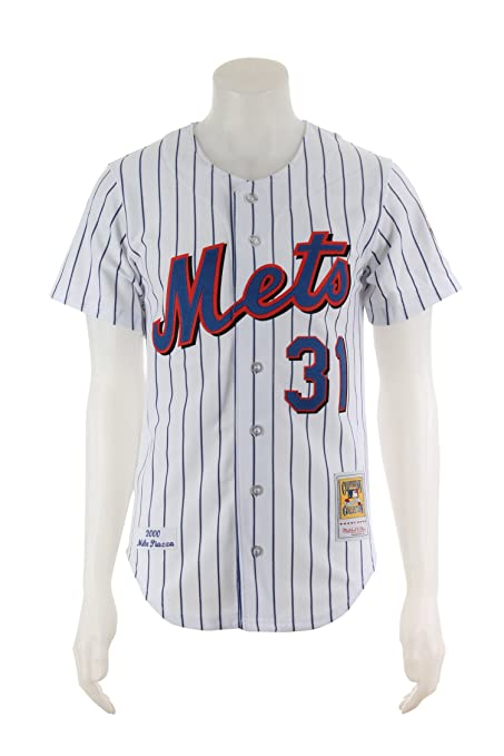 detailed look a7778 72d62 Amazon.com : Mitchell & Ness Mike Piazza New York Mets ...