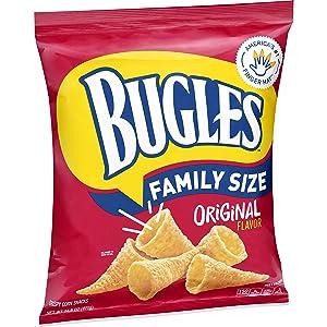 Bugles Original Flavor Crispy Corn Snacks, 14.5 oz