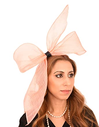 Gorgeous Bittern Army Green Sinamay Looped Ascot Derby Fascinator Hat -  With Headband de9b178c6662