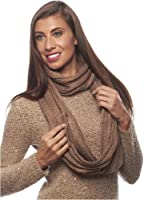 Winter Knit Infinity Circle Scarf