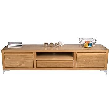 treesure lowboard n eiche massiv massivholzlowboard sideboard wohnwand kommode wohnzimmerschrank