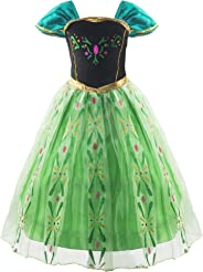 Padete Little Girls Snow Princess Party Dress up