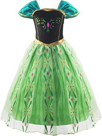 Padete Little Girls Snow Princess Party Dress up