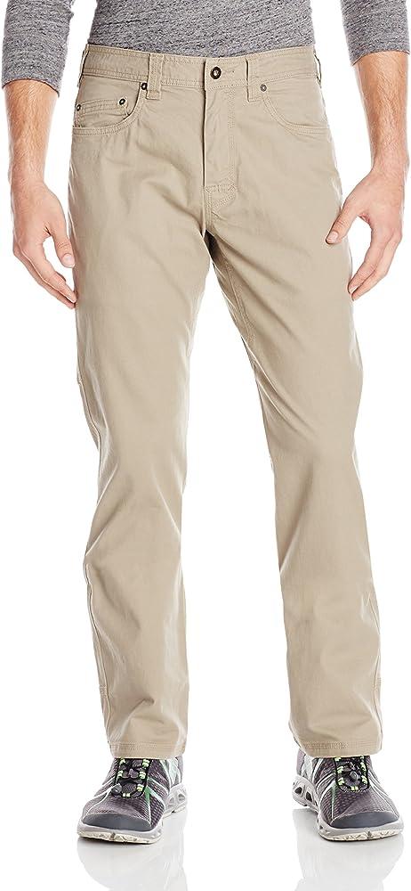 66780e055e Amazon.com: prAna Living Men's Bronson 30-Inch Inseam Pant, 28, Dark ...