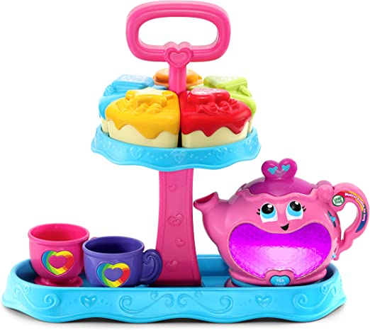 Amazon.com: LeapFrog Musical Rainbow Tea Party Toy: Toys & Games