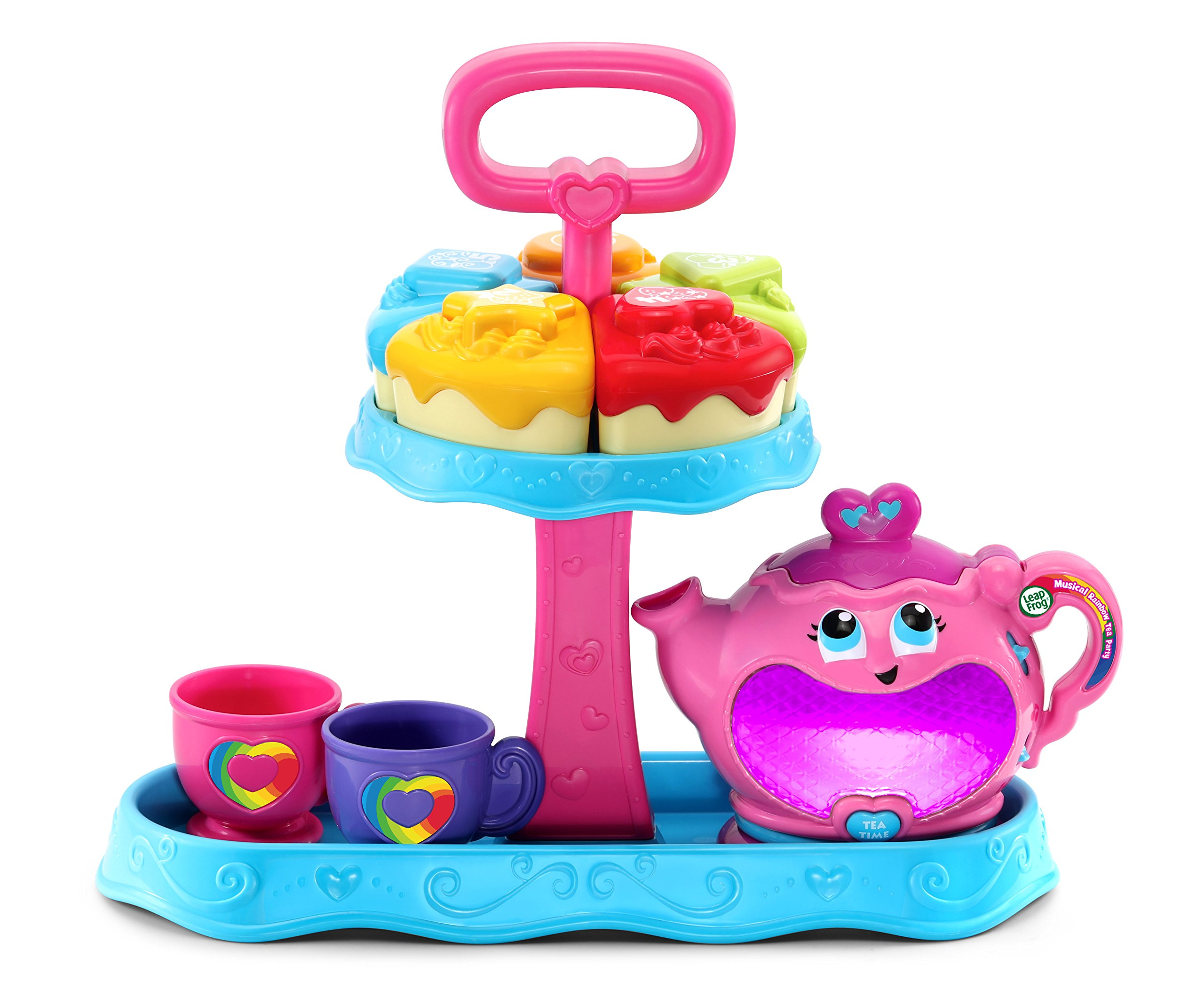 LeapFrog Musical Rainbow Tea Party Toy by LeapFrog