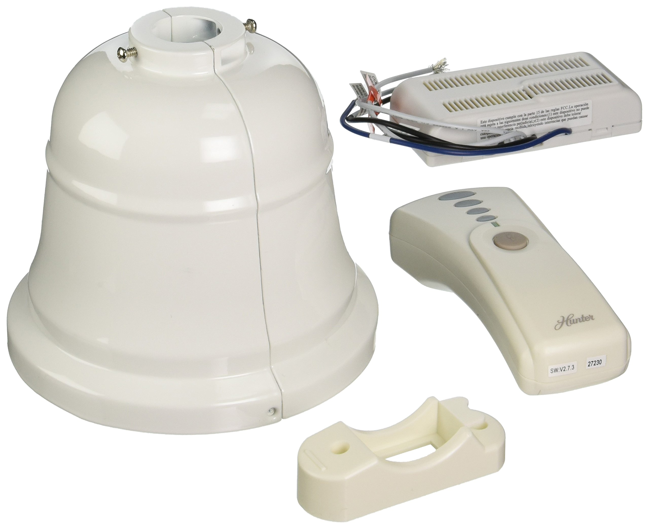 Hunter 99179 Original Control and Canopy Accessory Kit, White