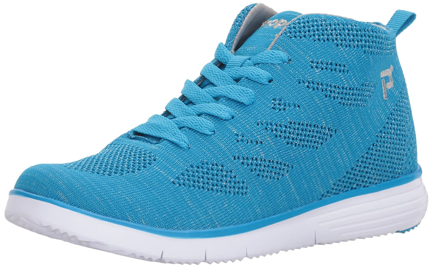 Propet Women's TravelFit Hi Walking Shoe B073DNQY59 8 N US|Pacific/Silver