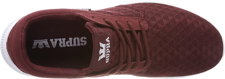 Supra Hammer Run, Zapatillas para Hombre, Rojo (Andorra-White), 42 EU: Amazon.es: Zapatos y complementos
